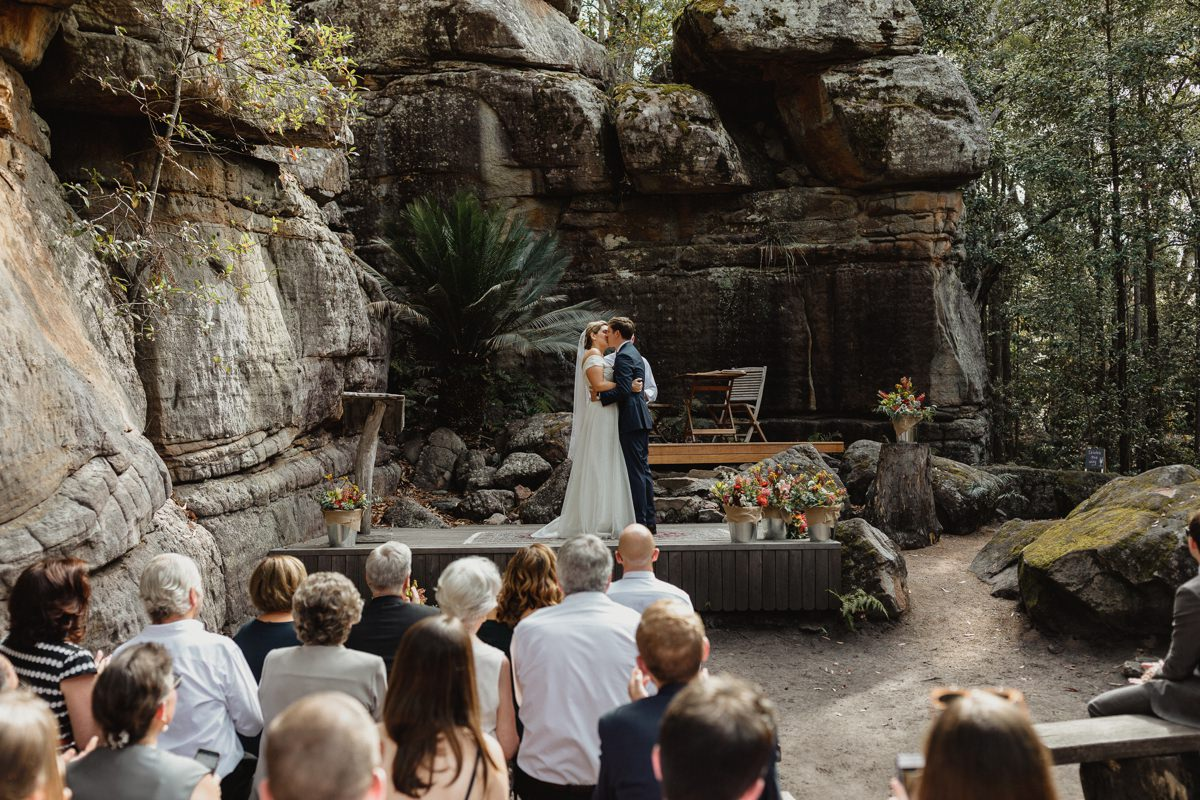 kangaroo valley bush retreat wedding