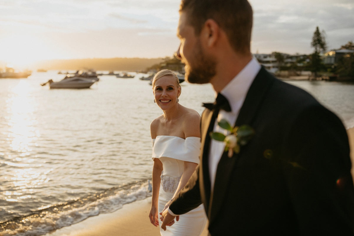 Watsons bay boutique hotel wedding