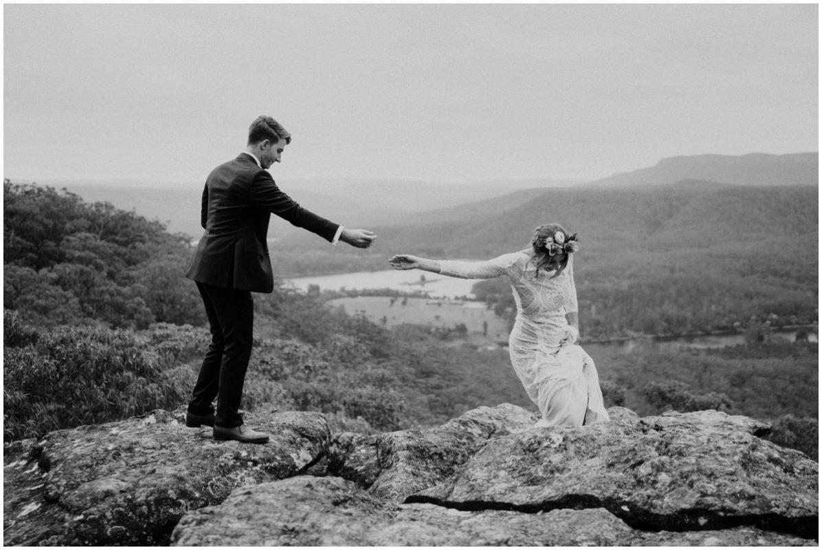 kangaroo valley bush retreat wedding